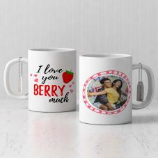 i love you berry much Photo Print Ceramic Mug By GiftsOnn