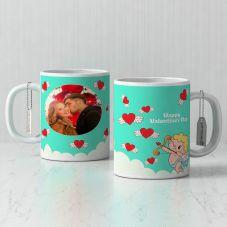 Happy valentine's day photo Personalized Mug