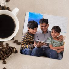 Beautiful Personalized Square Shaped Coaster By GiftsOnn