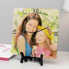 Beautiful Personalized Square Shaped Clock by GiftsOnn