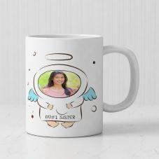 My Anger Sister 1 Personalized photo White Mug