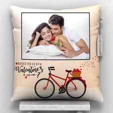 Would You Be My valentine's  Printed Personalized Pillow
