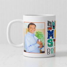 Super Monstro Brother Quote Photo Personalized mug