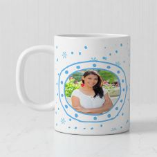Lovely Sister Personalized Photo Print Ceramic Mug ( 3.7x3.2in, 320ml)