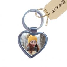 Personalized Heart Photo Key Ring By GiftsOnn