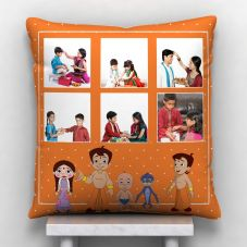 Raksha Bandhan 6 photos Personalized Pillow-12*12
