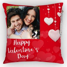 Happy valentine's day Quote With Printed Photo