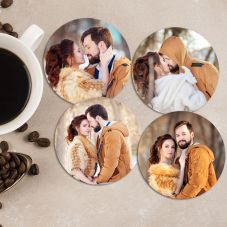 Personalized Wooden Coaster (Set of 4)
