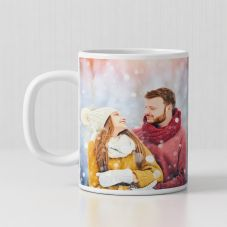 Photo Print Personalized Ceramic white Mug By GiftsOnn