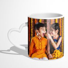 GiftsOnn White Color Personalized Pillow - Customized With Photo