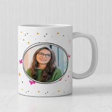 For My Princess Sister Personalized White Mug