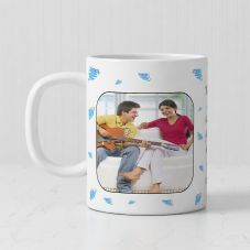 Thers's No Better Friend Than A Sister Personalized photo White Mug