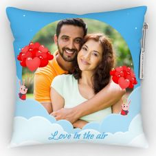 GiftsOnn Love in the air Printed Personalized Pillow