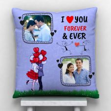 GiftsOnn 2 Photos Personalized With quote I love You - 12x12
