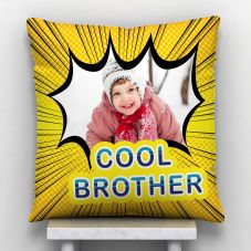 Cool Brother Satin Personalized Pillow