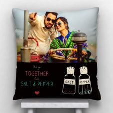 GiftsOnn We Go Together Personalized Cushion With Cover - 12x12