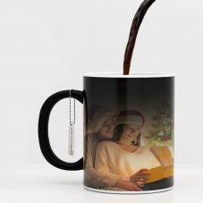 Photo Black Magic Mug (320ml ,Set of 1)