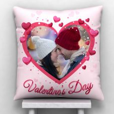 GiftsOnn valentine's day Printed Personalized Pillow