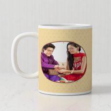 Brother Sister Ceramic 300ml Personalized Photo Mug