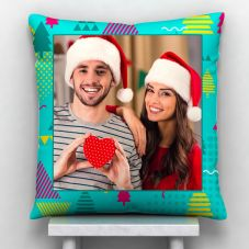 Merry Christmas 1 photo Personalized Pillow-12*12