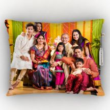Personalized White Color Photo Pillow By GiftsOnn,12*15inch
