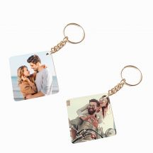 Wooden Photo keychain 1 Sided  - 2 quantity