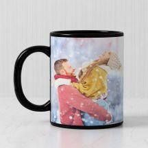 GiftsOnn Best Magnificent Mug (Black Patch Printed Mug, 320ml,Set of 1)