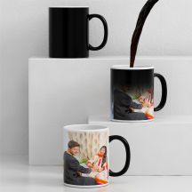 Giftsonn Lovely Personalized Black Magic -Photo Mug