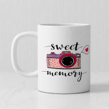 Sweet Memories Personalized mug-  Customized With Photo