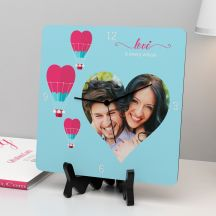 Love is Every Where Personalized Clock