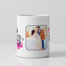 You Are My Heart Personalized White Mug