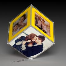 Beautiful Personalized LED Rotating Photo Frame