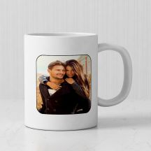 Personalized White Mug( 3.7x3.2in, 320ml)